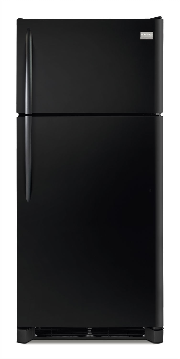 Refrigerators and Freezers - Frigidaire Gallery 18 Cu. Ft. Top Freezer Refrigerator – Smooth Black