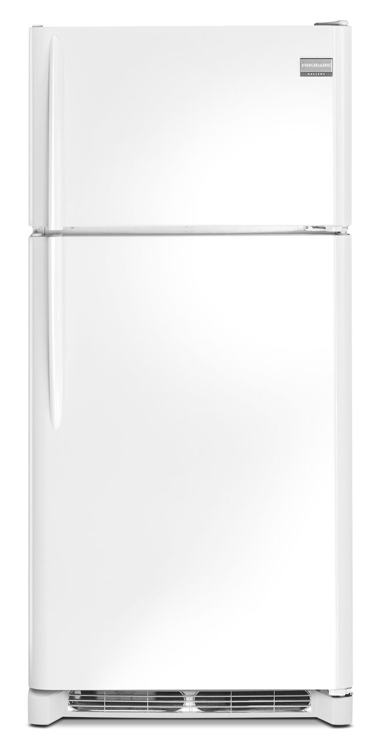 Refrigerators and Freezers - Frigidaire Gallery 18 Cu. Ft. Top Freezer Refrigerator – Smooth White