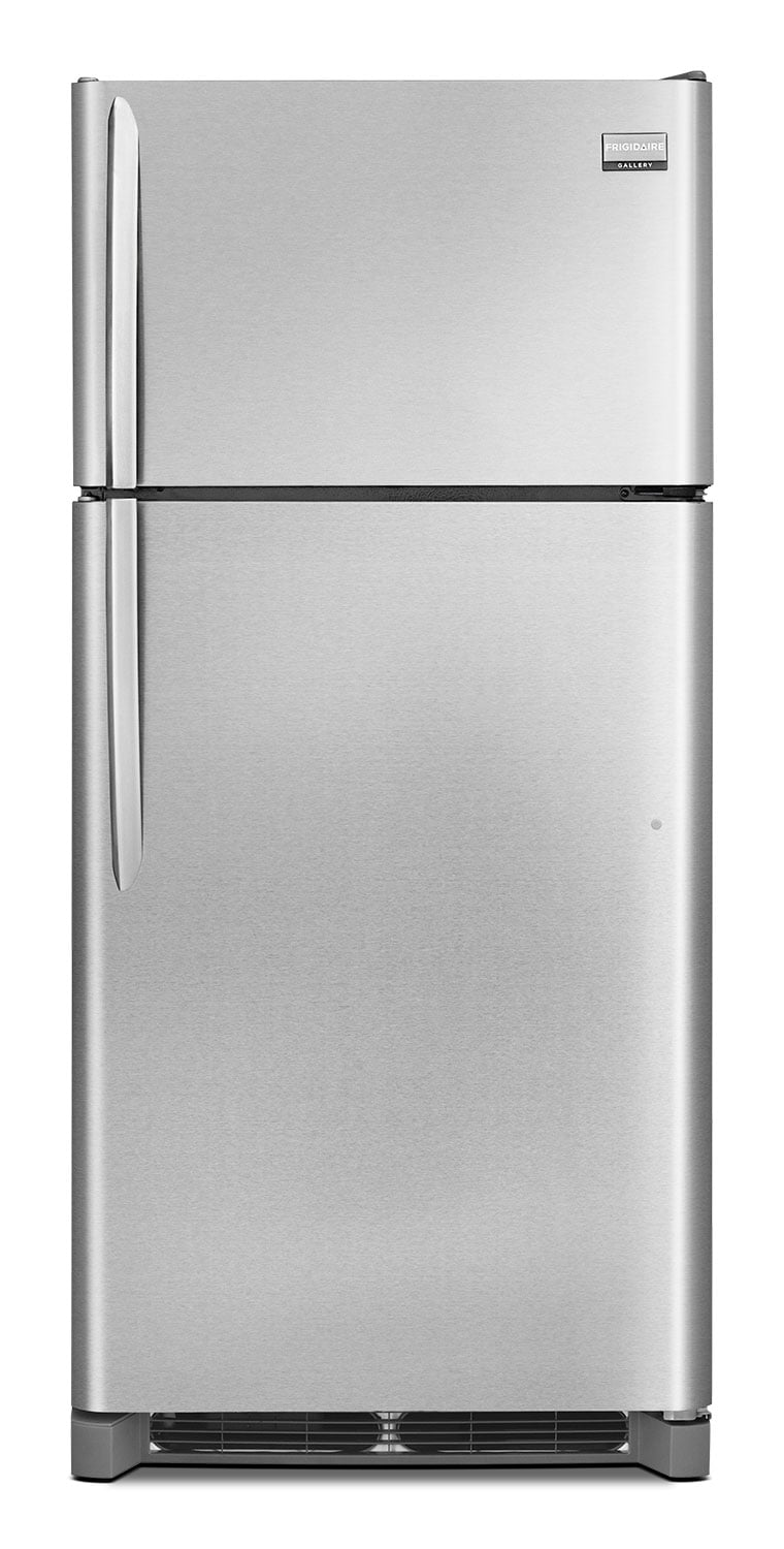Refrigerators and Freezers - Frigidaire Gallery 18 Cu. Ft. Top Freezer Refrigerator - Stainless Steel