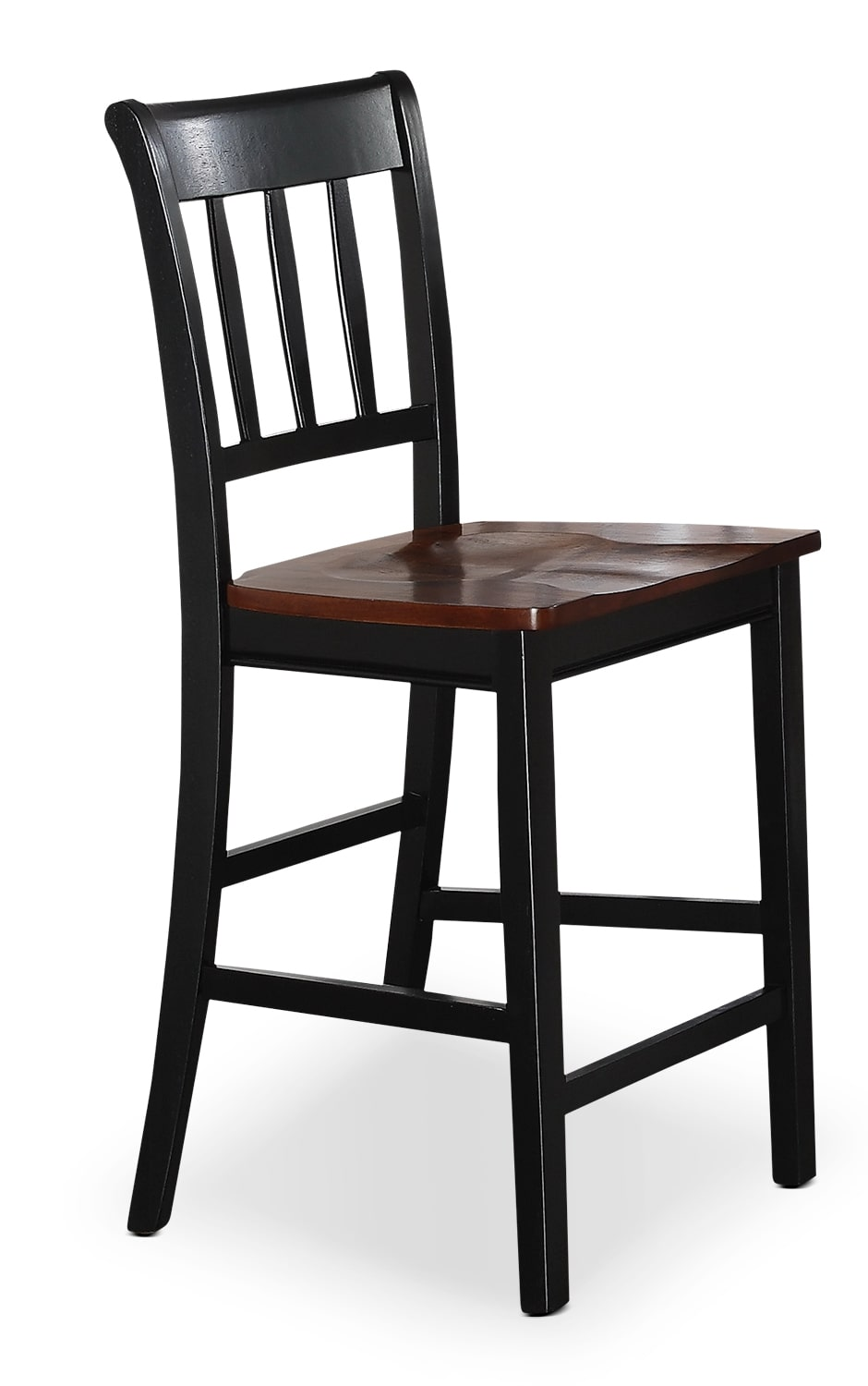 dining room furniture nyla counter height dining chair black and