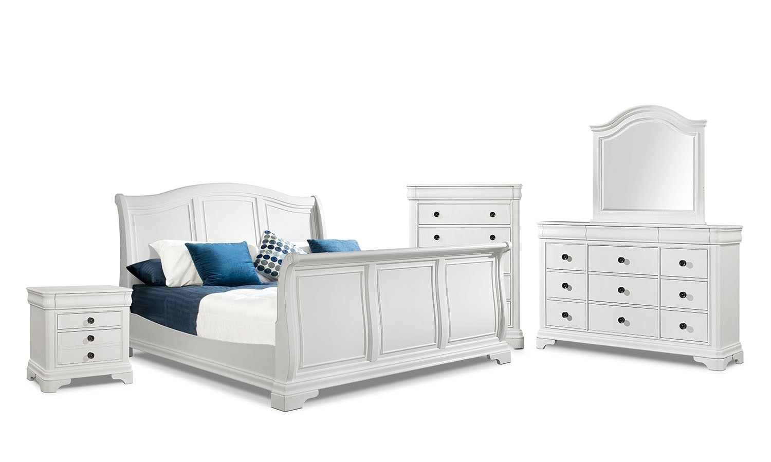 The Cameron Bedroom Collection - White