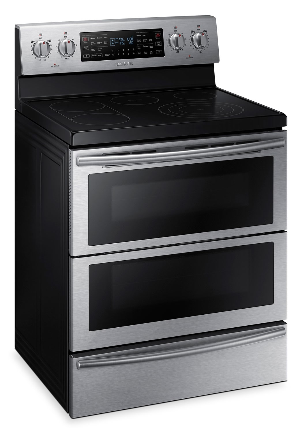 Cooking Products - Samsung Flex Duo™ Dual Door™ Convection Range – Stainless Steel