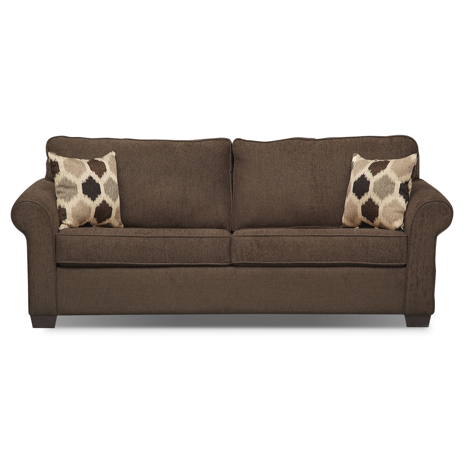 Fletcher Ii Queen Memory Foam Sleeper Sofa American