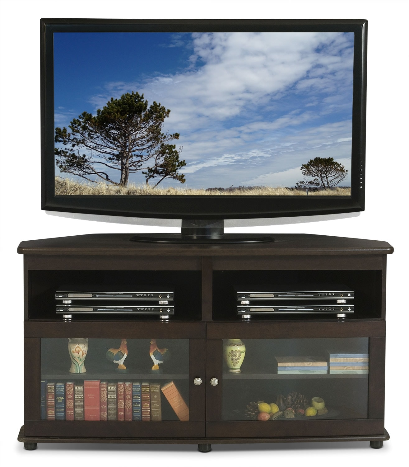 Televisions - Selby Corner TV Stand