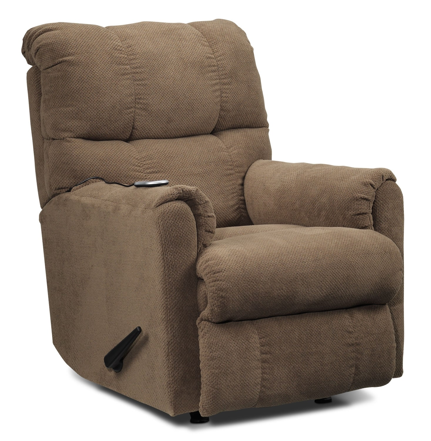 Living Room Furniture - Mosby Recliner - Brown