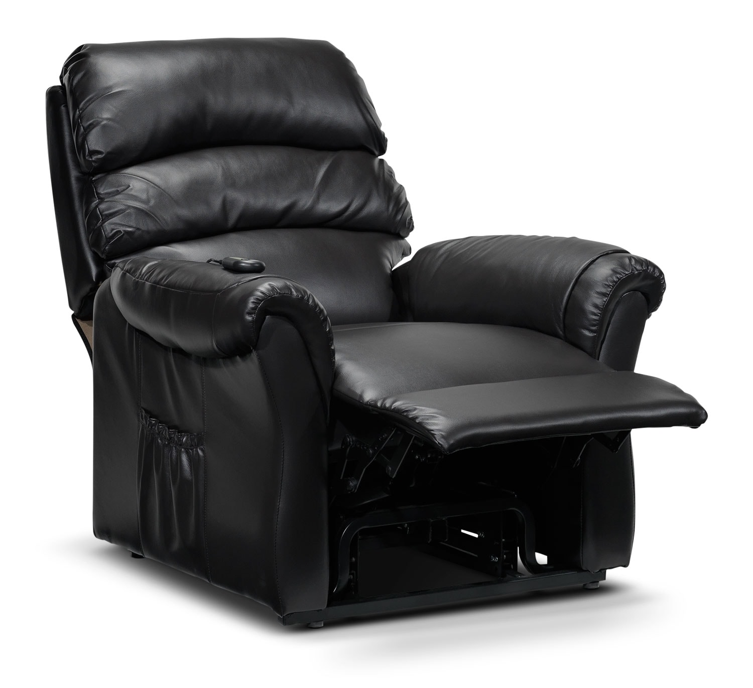 Paolo Power Lift Recliner Dark Brown Leon 39 S
