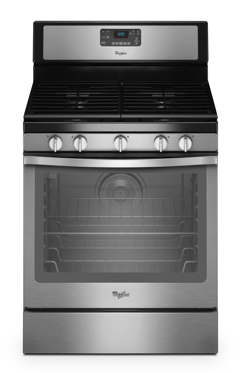 Whirlpool Stainless Steel Freestanding Gas Convection Range (5.8 Cu. Ft.) - WFG540H0ES