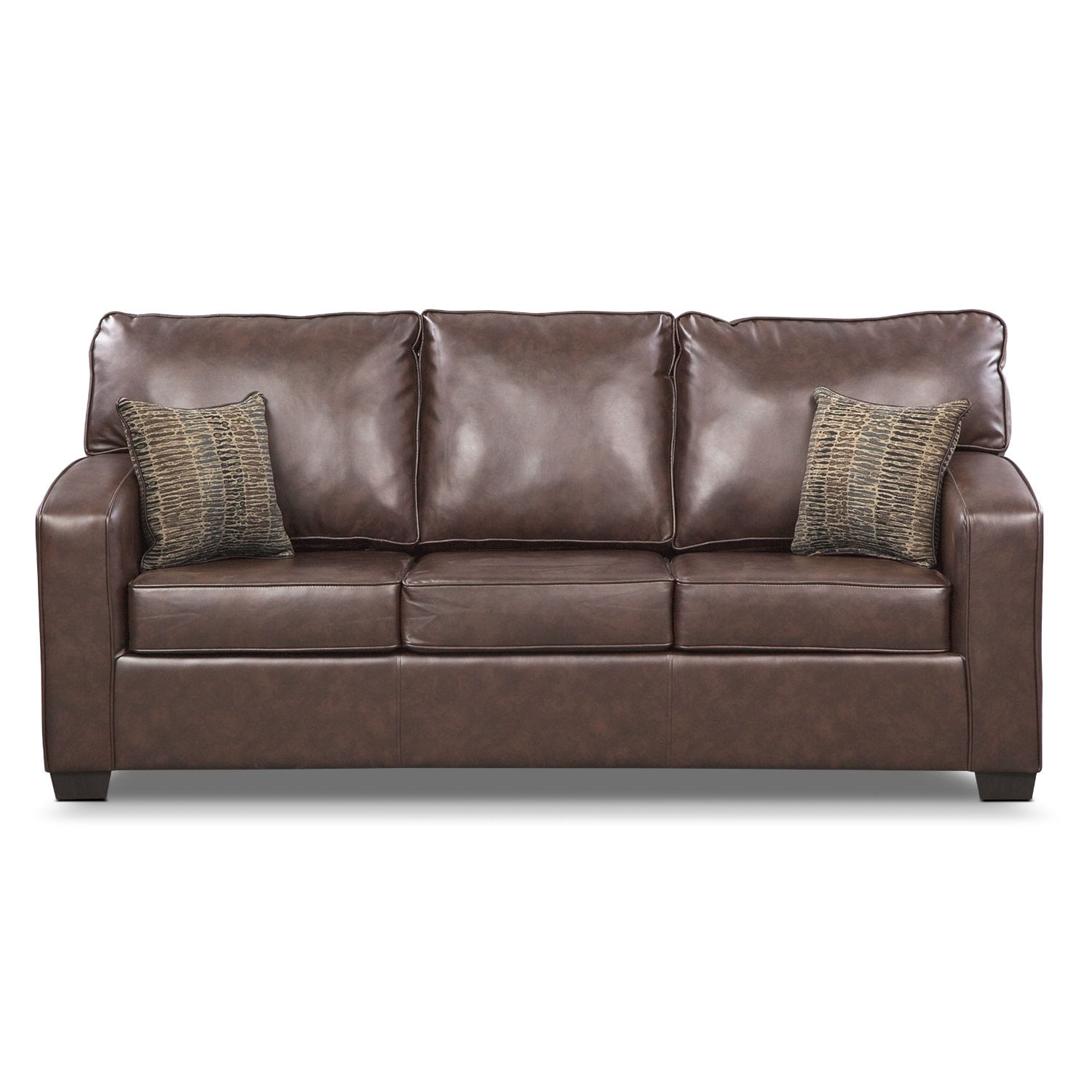 Brookline Queen Memory Foam Sleeper Sofa Value City Furniture