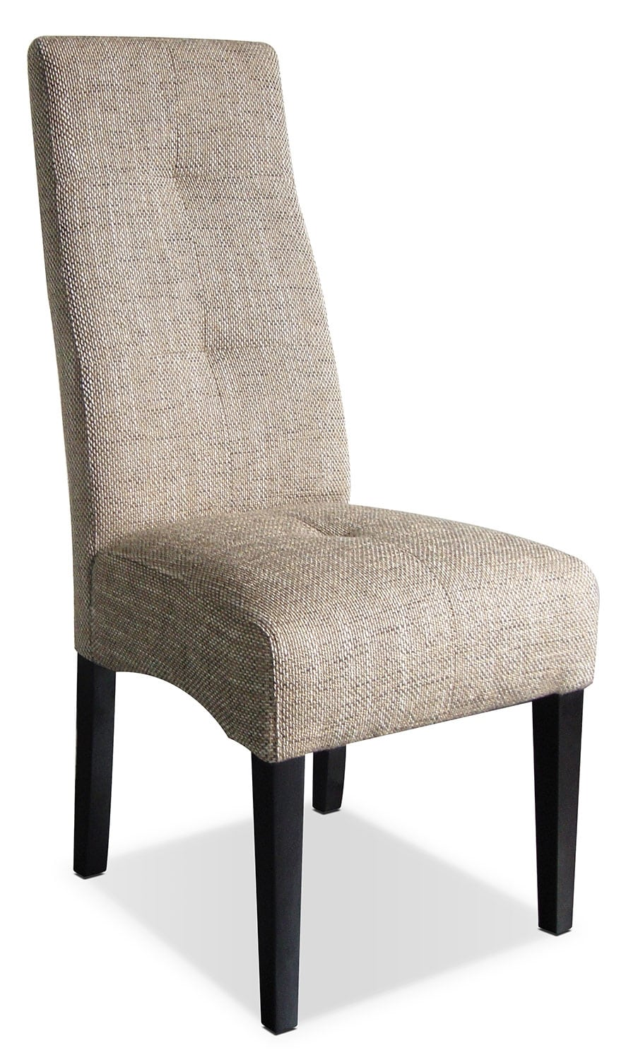 Beige Linen Chair