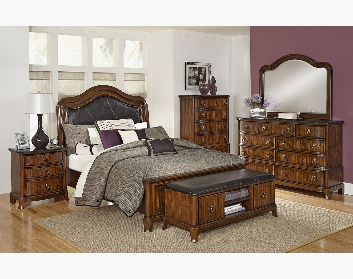 Bedroom Furniture - The Emory Collection - King Bed