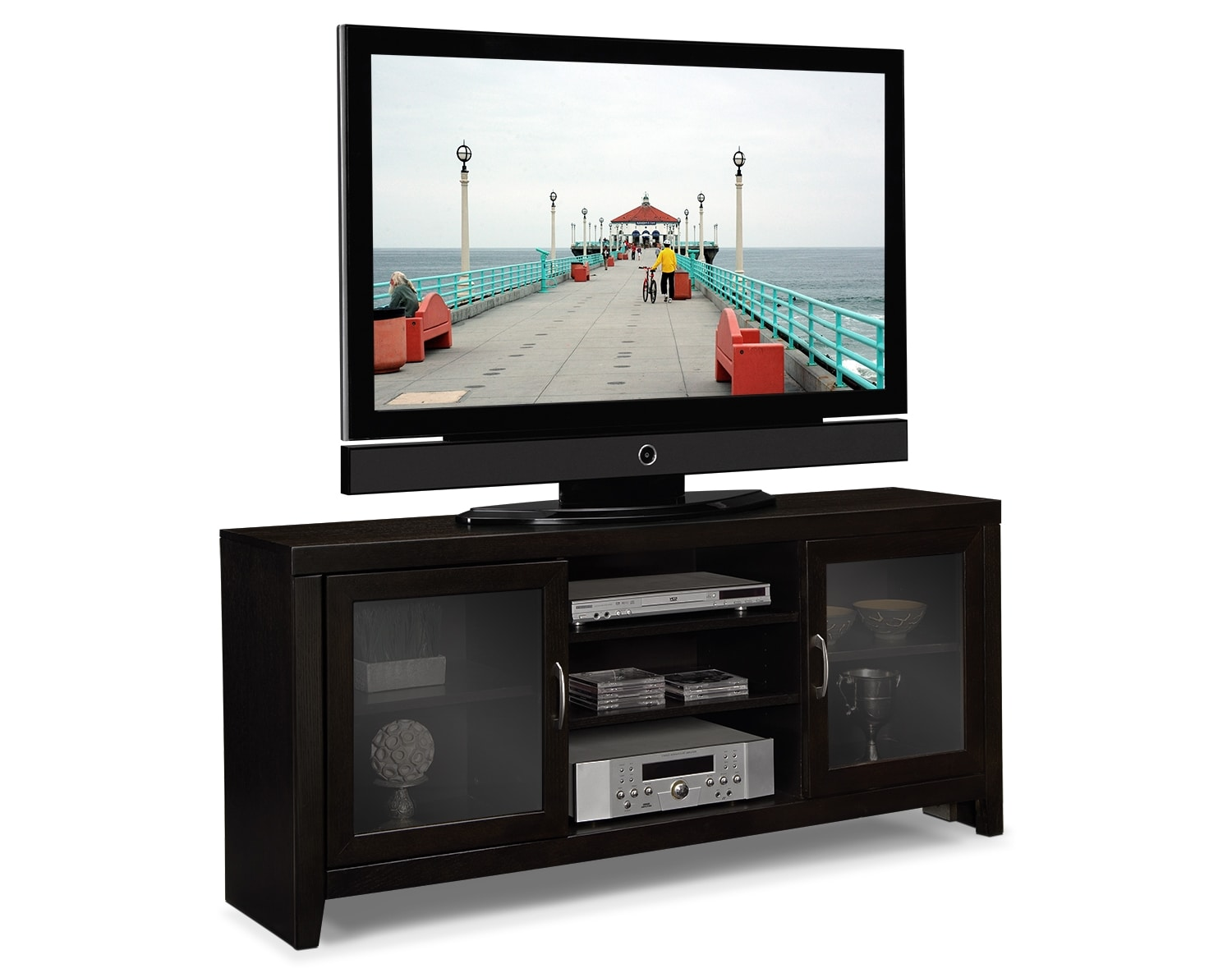 "Entertainment Furniture - The Newton Collection - 60"" TV Stand"