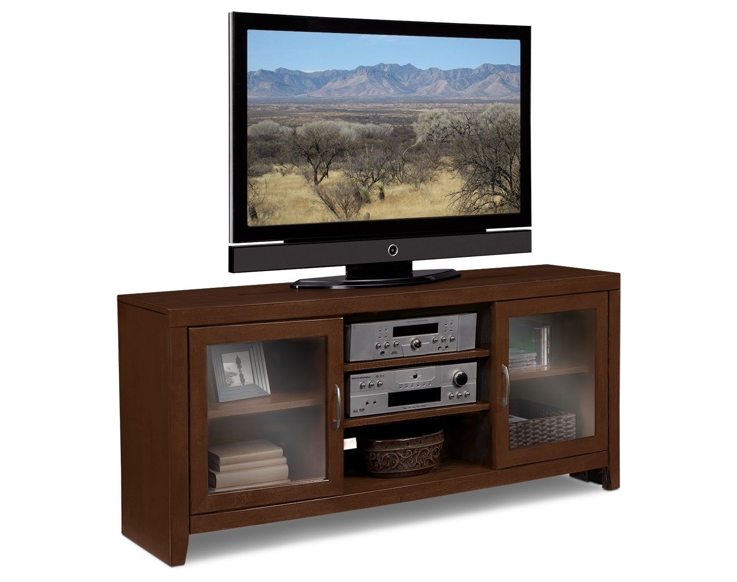 """Entertainment Furniture - The Newton II Collection - 60"""" TV Stand"""