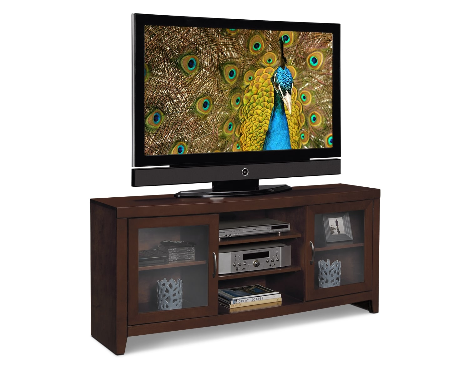 "Entertainment Furniture - The Newton III Collection - 60"" TV Stand"