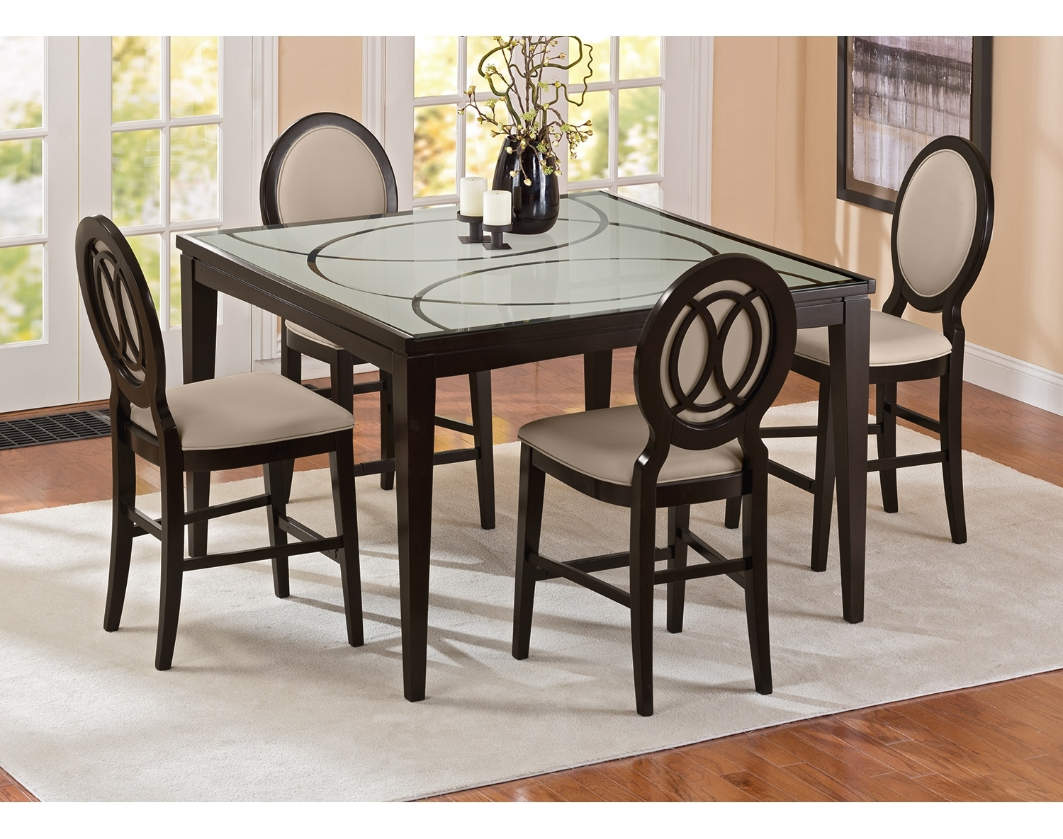 Dining Room Furniture - The Stewart II Collection - Counter-Height Table