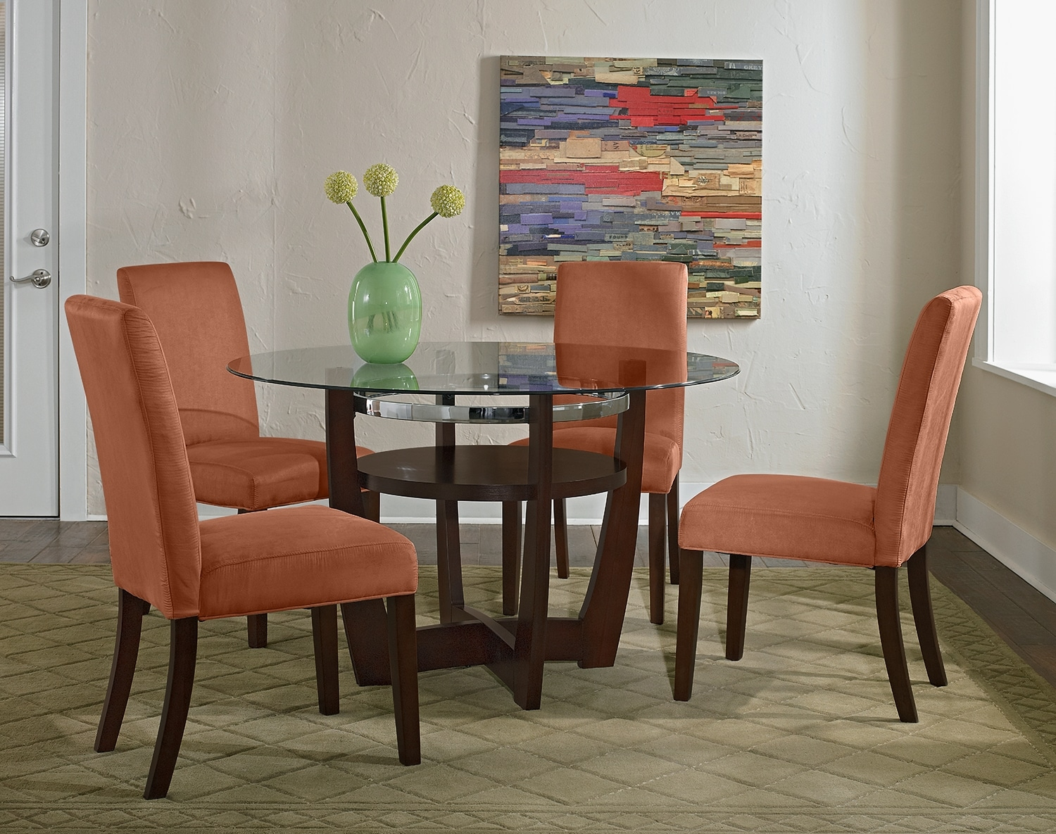 Dining Room Furniture - The Daly Orange Collection - Table