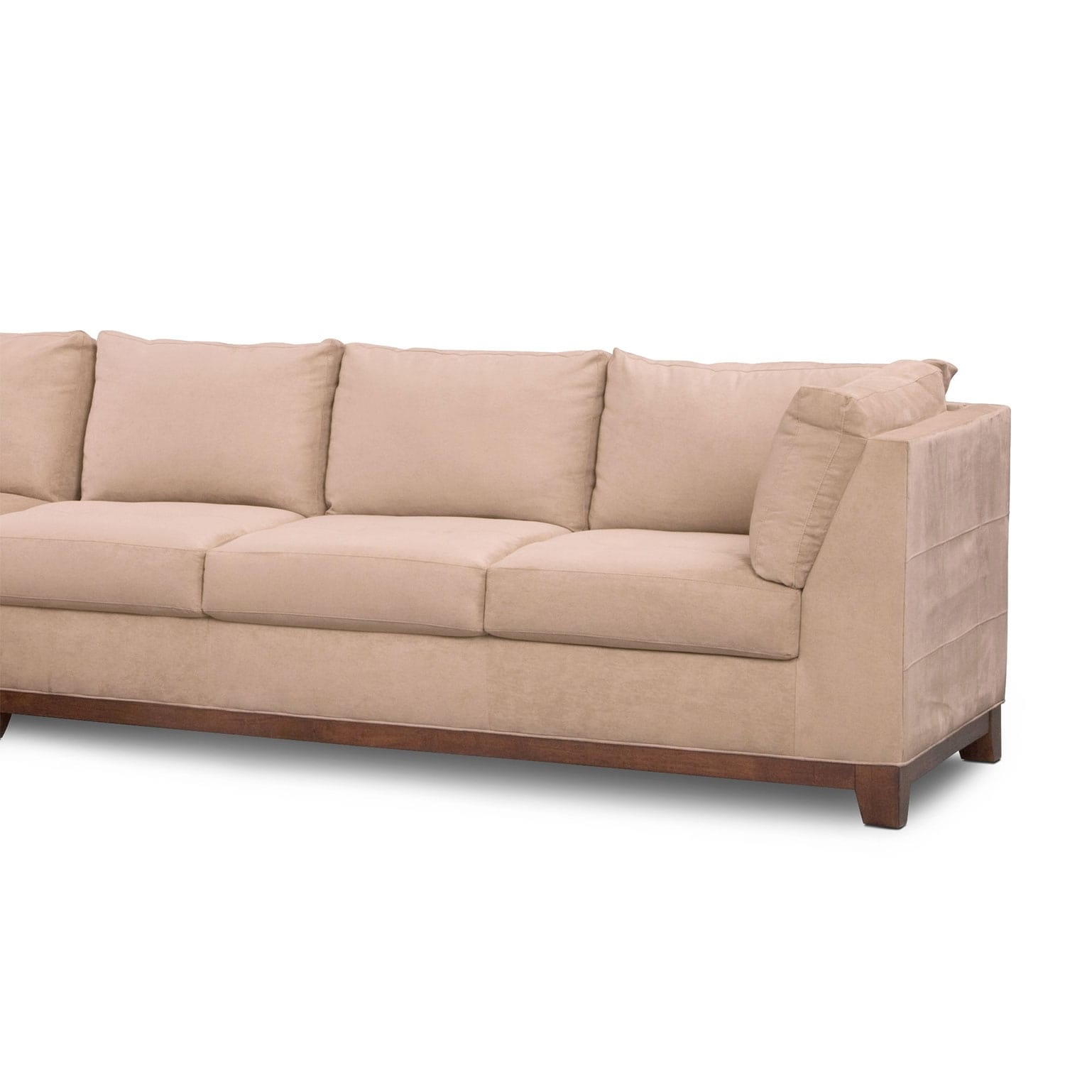 Soho 2 Piece Sectional With Left Facing Chaise