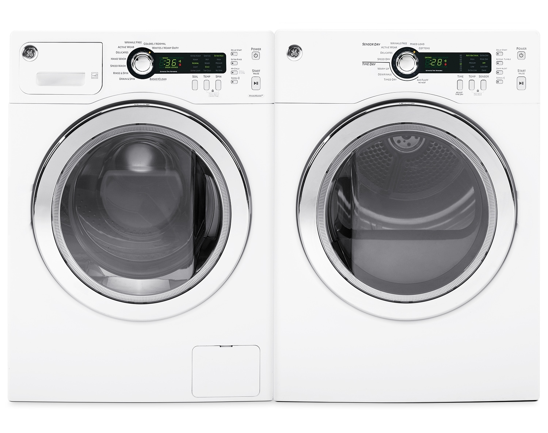 GE Laundry - WCVH4800KWW/PCVH480EKWW
