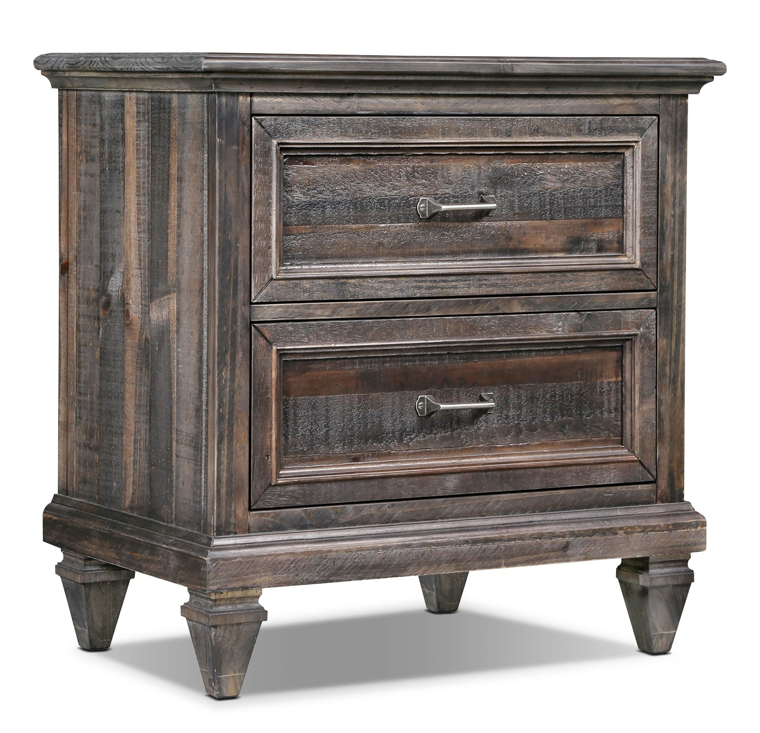 Calistoga Nightstand - Weathered Charcoal