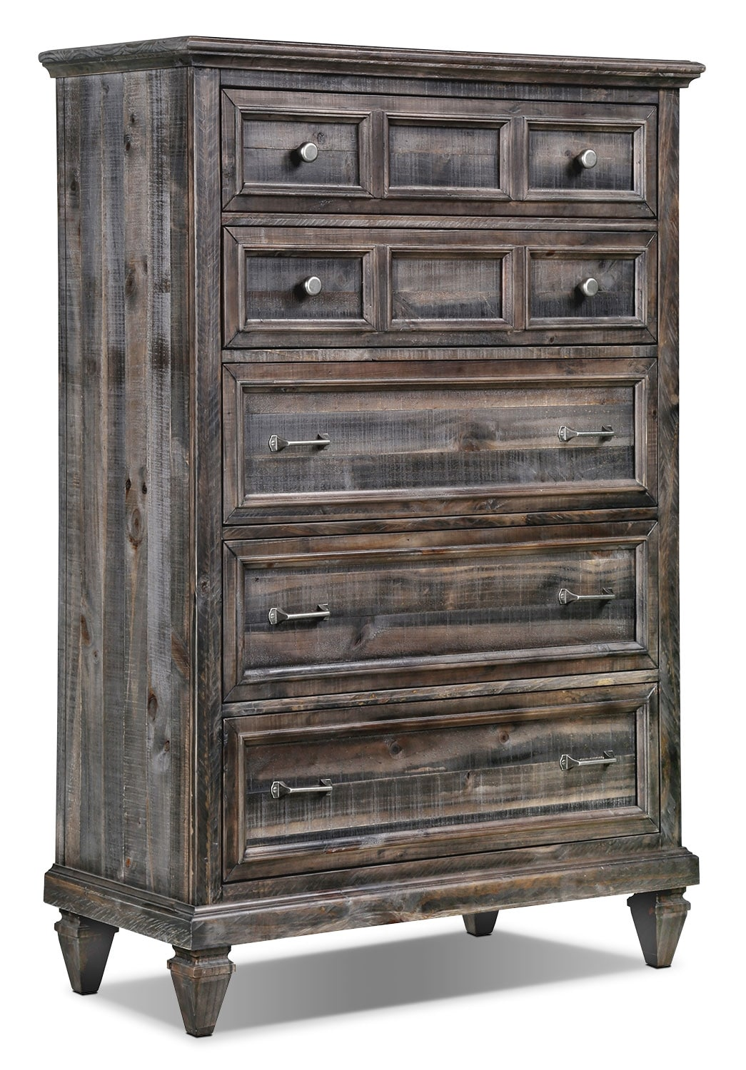 Bedroom Furniture - Calistoga Chest - Weathered Charcoal