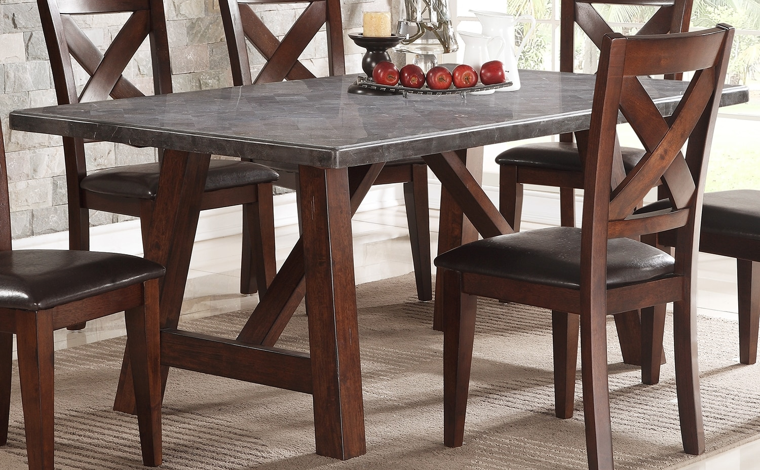 Dining Room Furniture - Bluestone Dining Table
