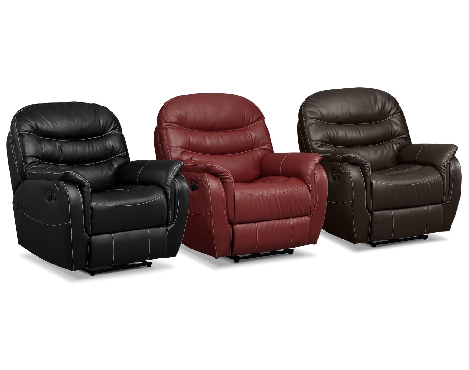Living Room Furniture - The Bradford Collection - Power Recliner