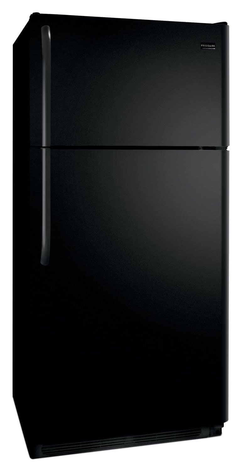 Frigidaire® 18 Cu. Ft. Top-Mount Refrigerator - Smooth Black