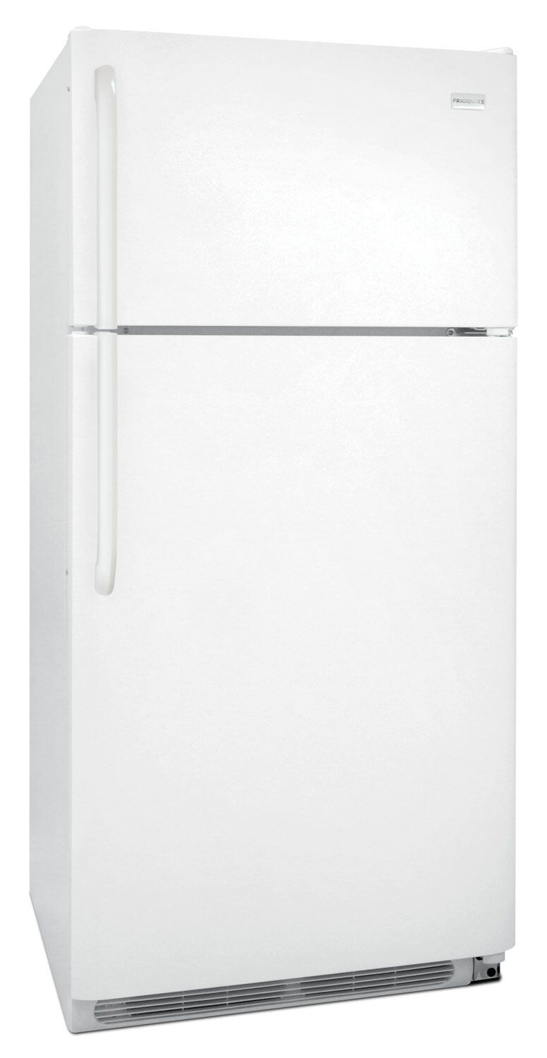 Frigidaire® 18 Cu. Ft. Top-Mount Refrigerator - Smooth White