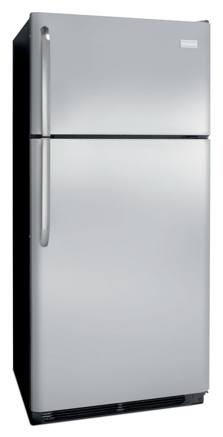 Frigidaire® 18 Cu. Ft. Top-Mount Refrigerator - Stainless Steel