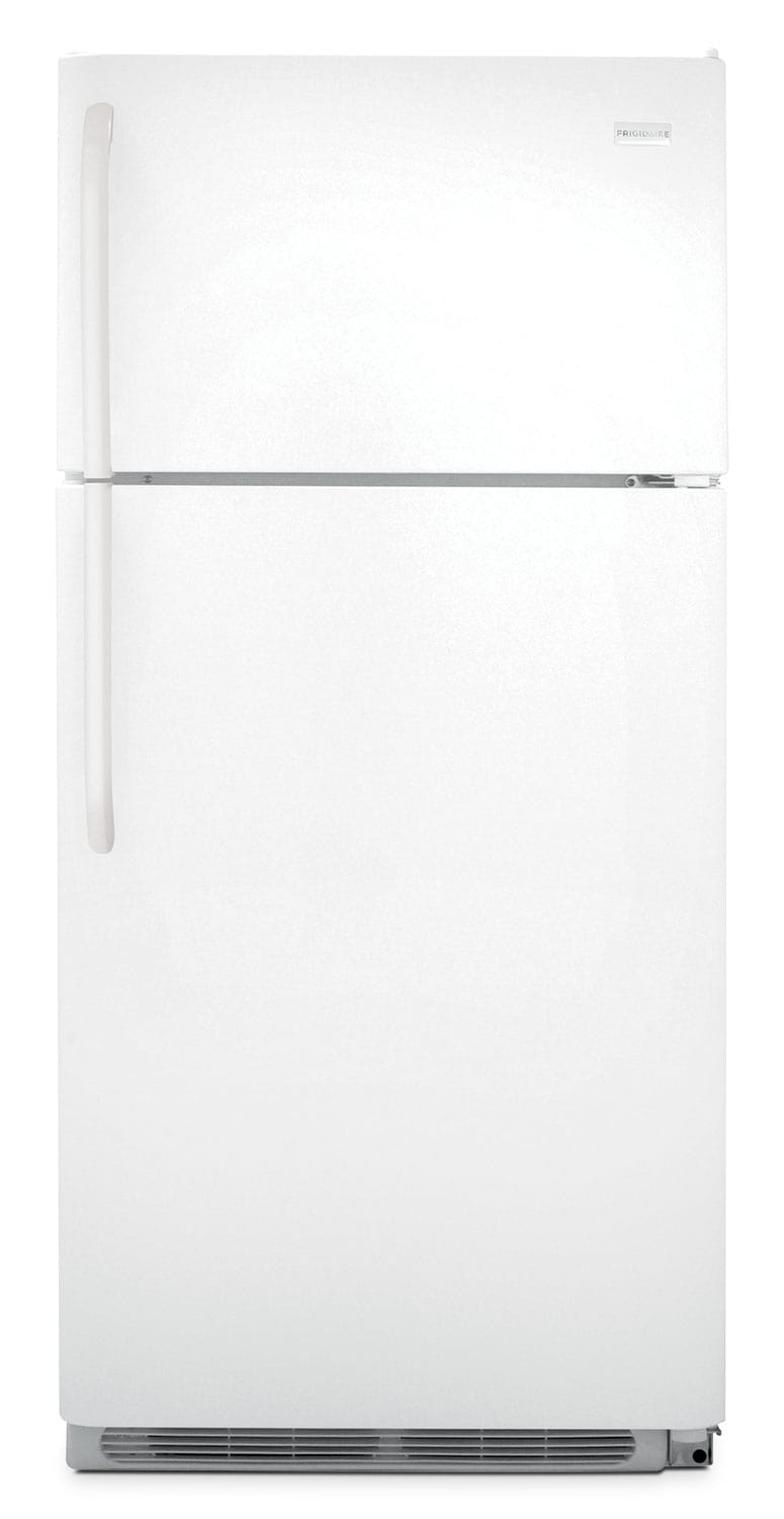 Refrigerators and Freezers - Frigidaire White Top-Freezer Refrigerator (18 Cu. Ft.) - FFTR1814QW