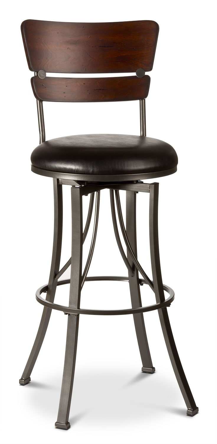 Dining Room Furniture - Santa Monica Counter-Height Swivel Stool