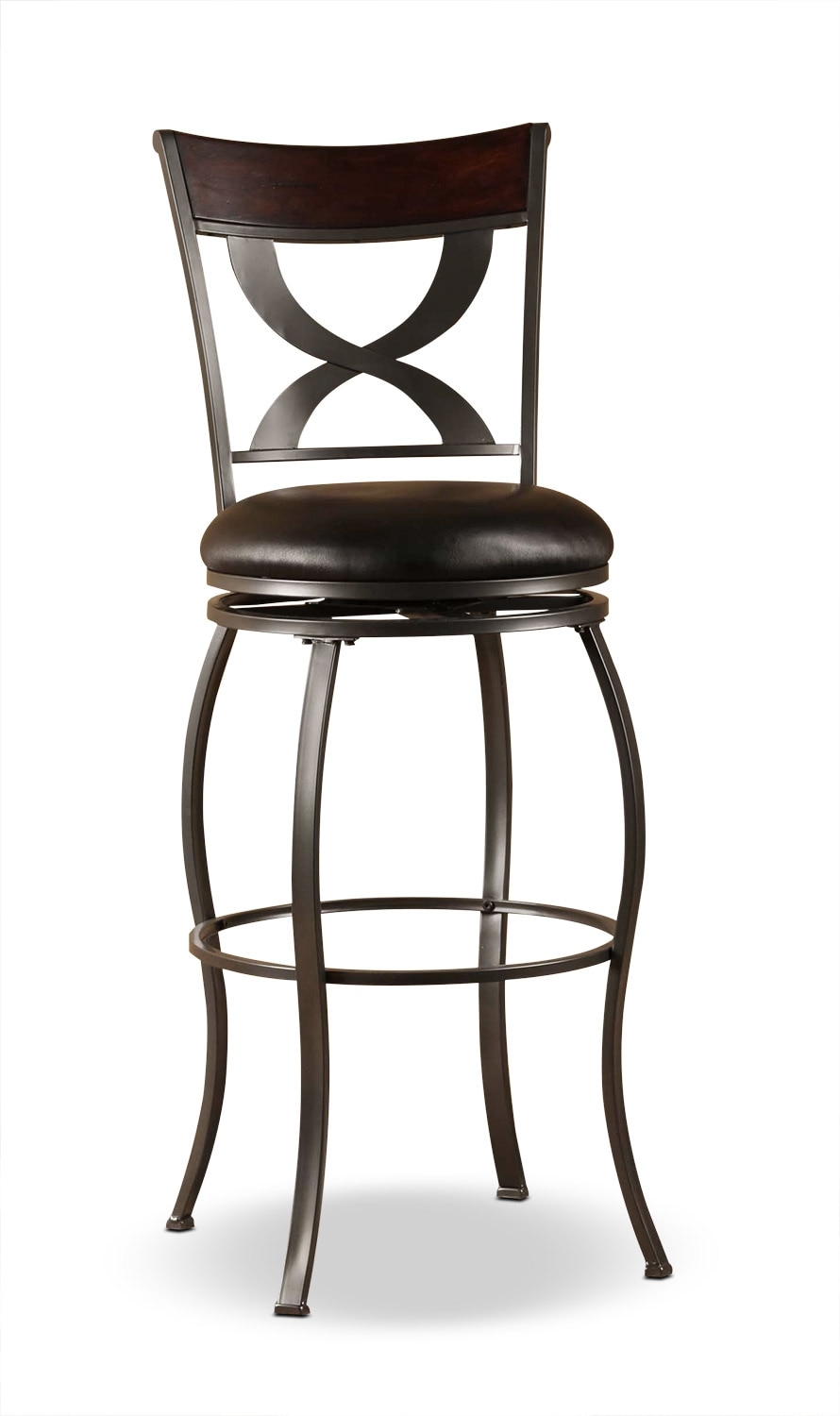 Stockport counter height swivel stool united furniture for Counter height swivel bar stools