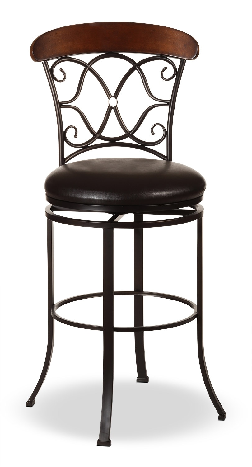 Dining Room Furniture - Dundee Counter-Height Swivel Stool