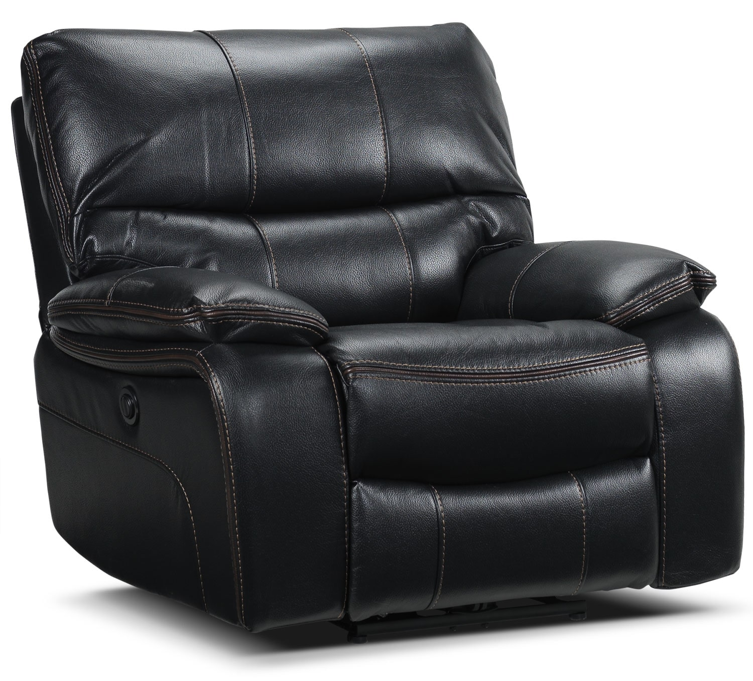 Living Room Furniture - Mahon Power Recliner - Black