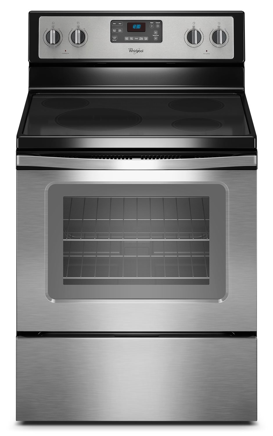 Whirlpool ® 4.8 Cu. Ft. Capacity Freestanding Electric Range - Stainless Steel