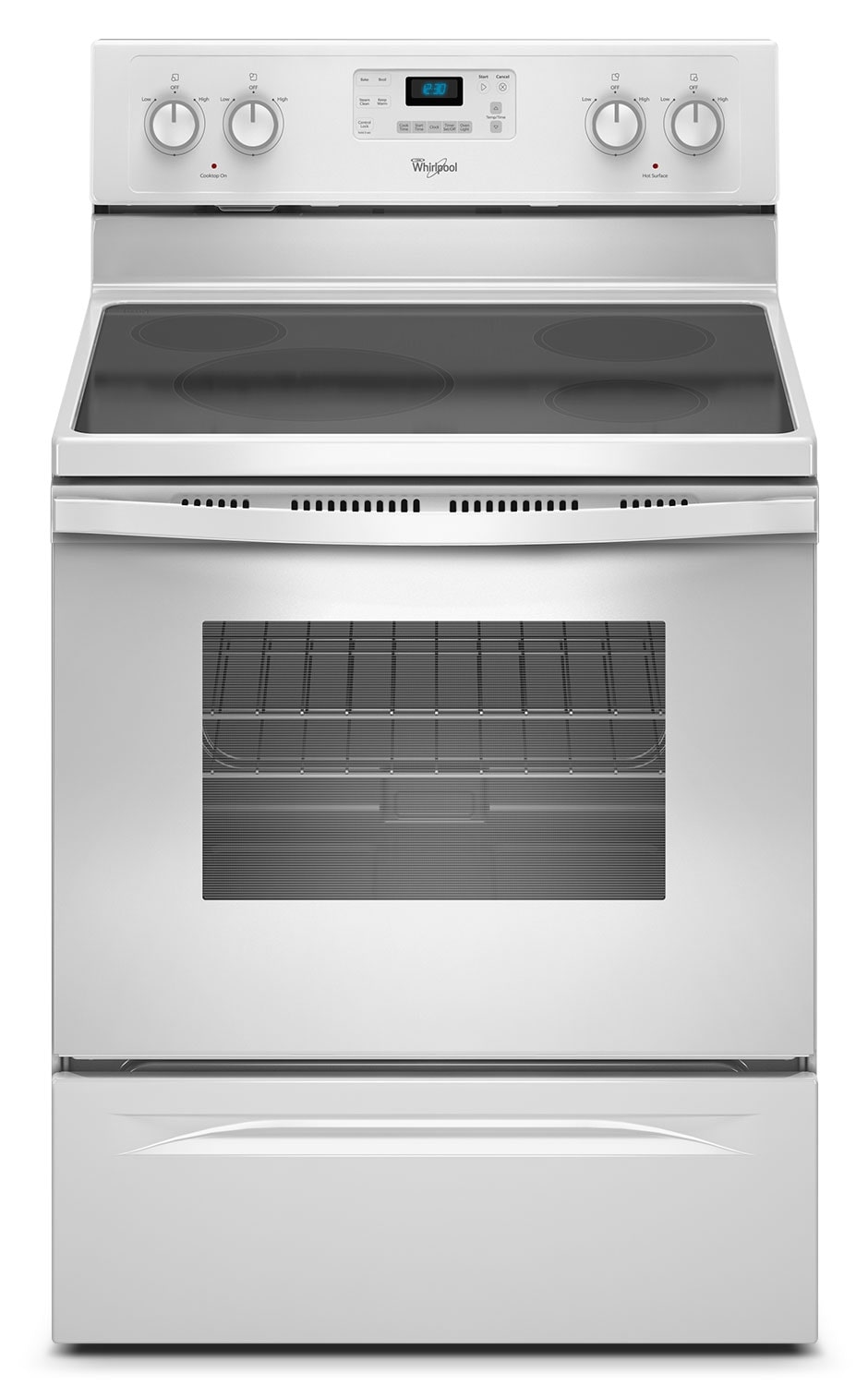 Cooking Products - Whirlpool® 4.8 Cu. Ft. Capacity Freestanding Electric Range - White