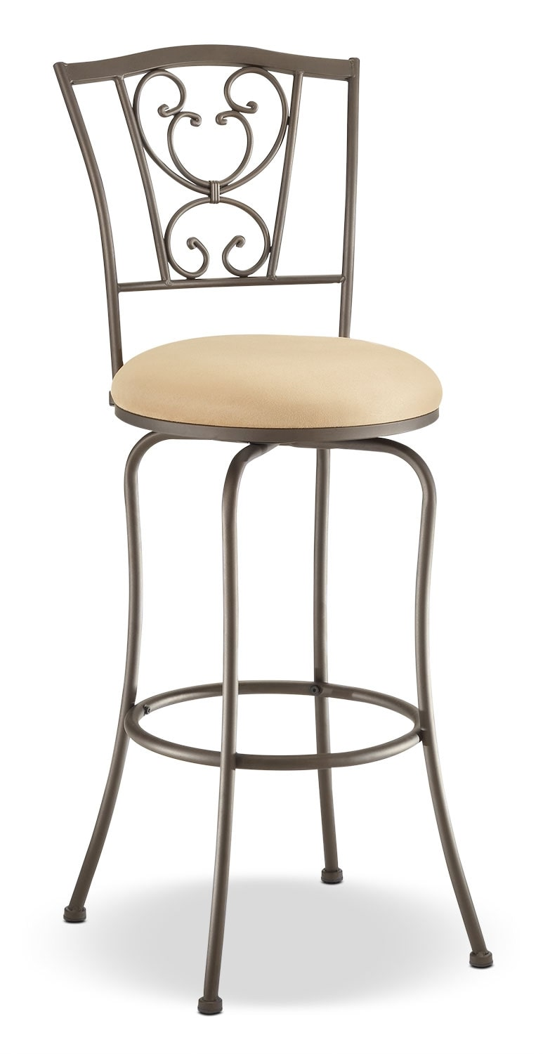 Concord Counter Height Swivel Stool Set Of 2 The Brick