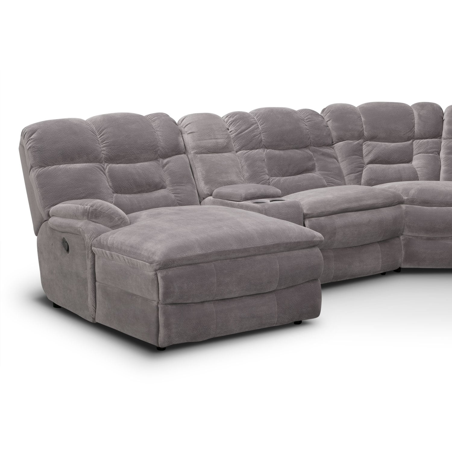 Big Softie Ii 6 Pc Power Reclining Sectional Reverse