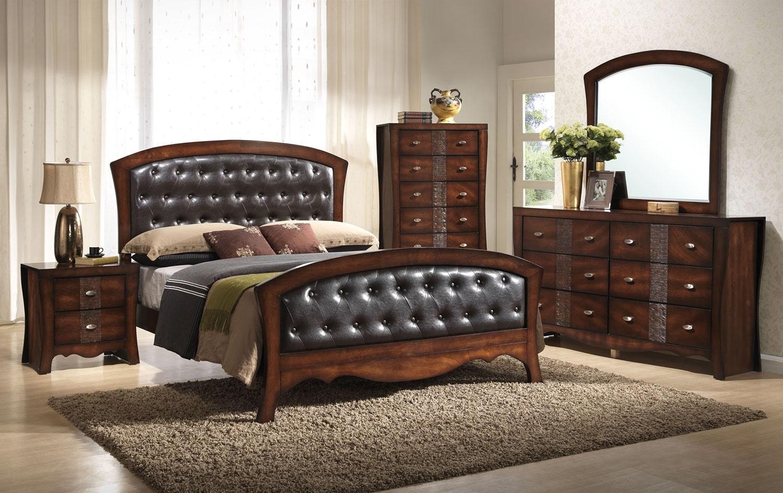 Bedroom Furniture - Jenny 8-Piece Queen Bedroom Package