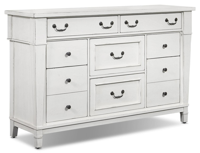 Bedroom Furniture - Stoney Creek Dresser - White