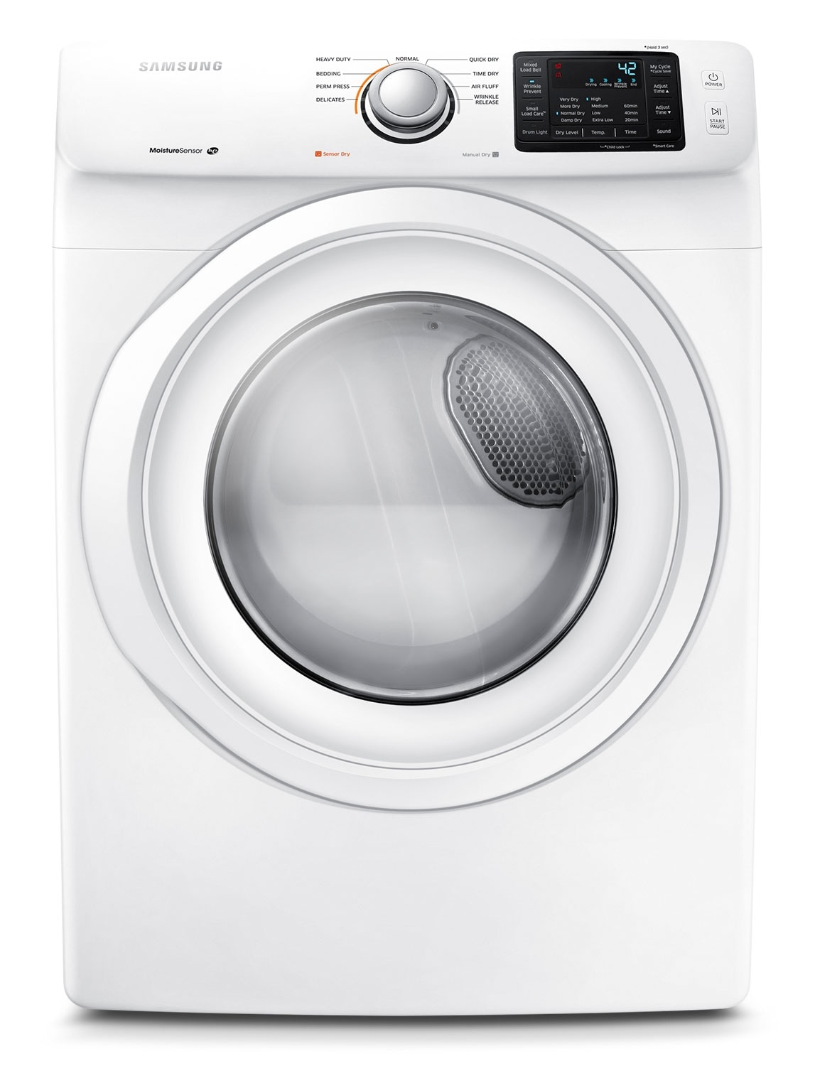 Samsung 7.5 Cu. Ft. Electric Dryer - White