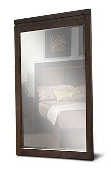 Bedroom Furniture - Wilson Mirror - Dark Chocolate