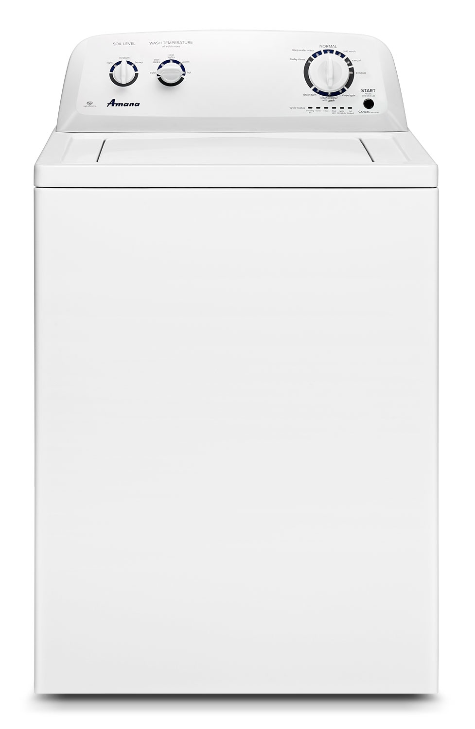 Amana White Top-Load Washer (4.0 Cu. Ft. IEC) - NTW4605EW