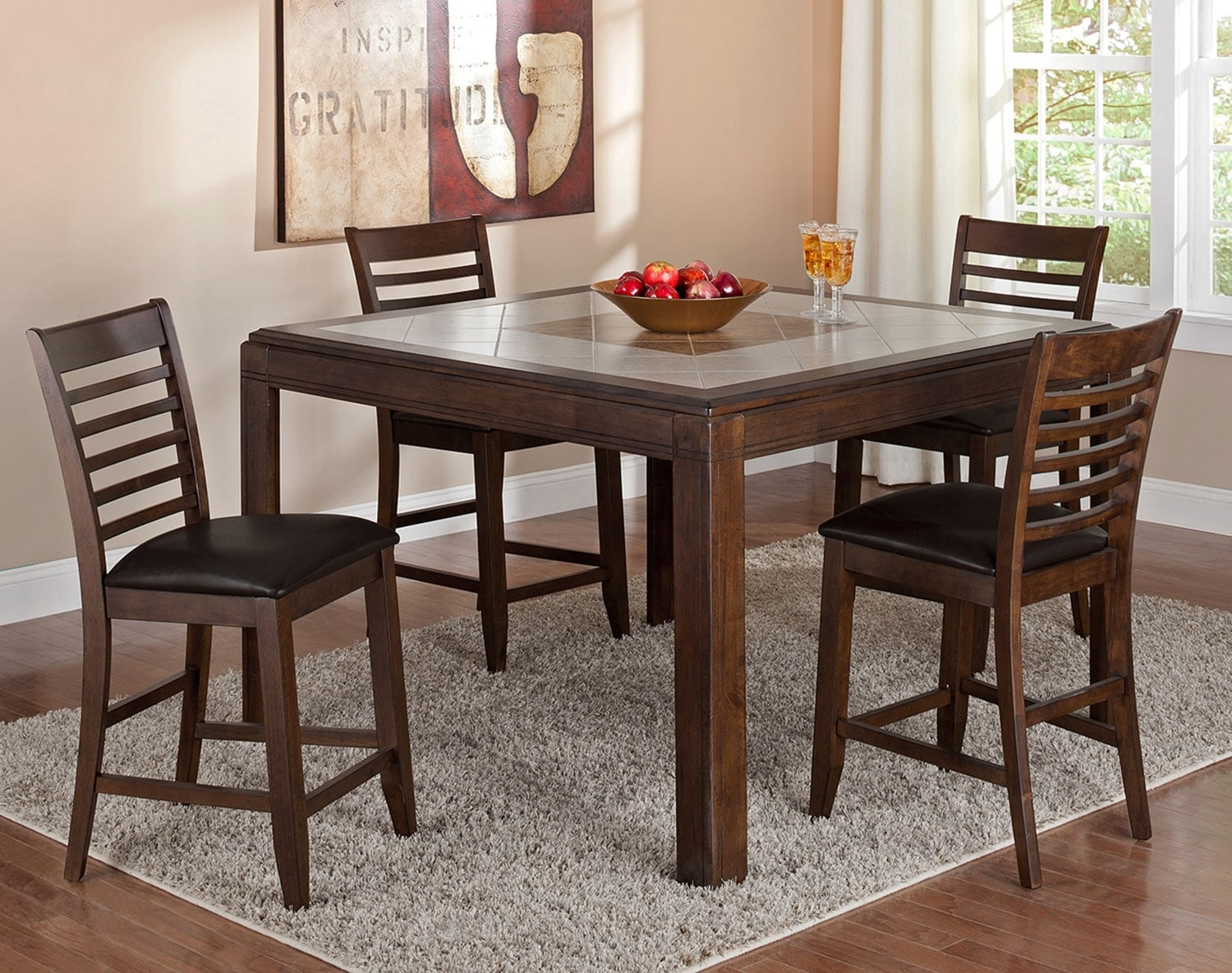 Dining Room Furniture - The Hillsboro II Collection - Counter-Height Table