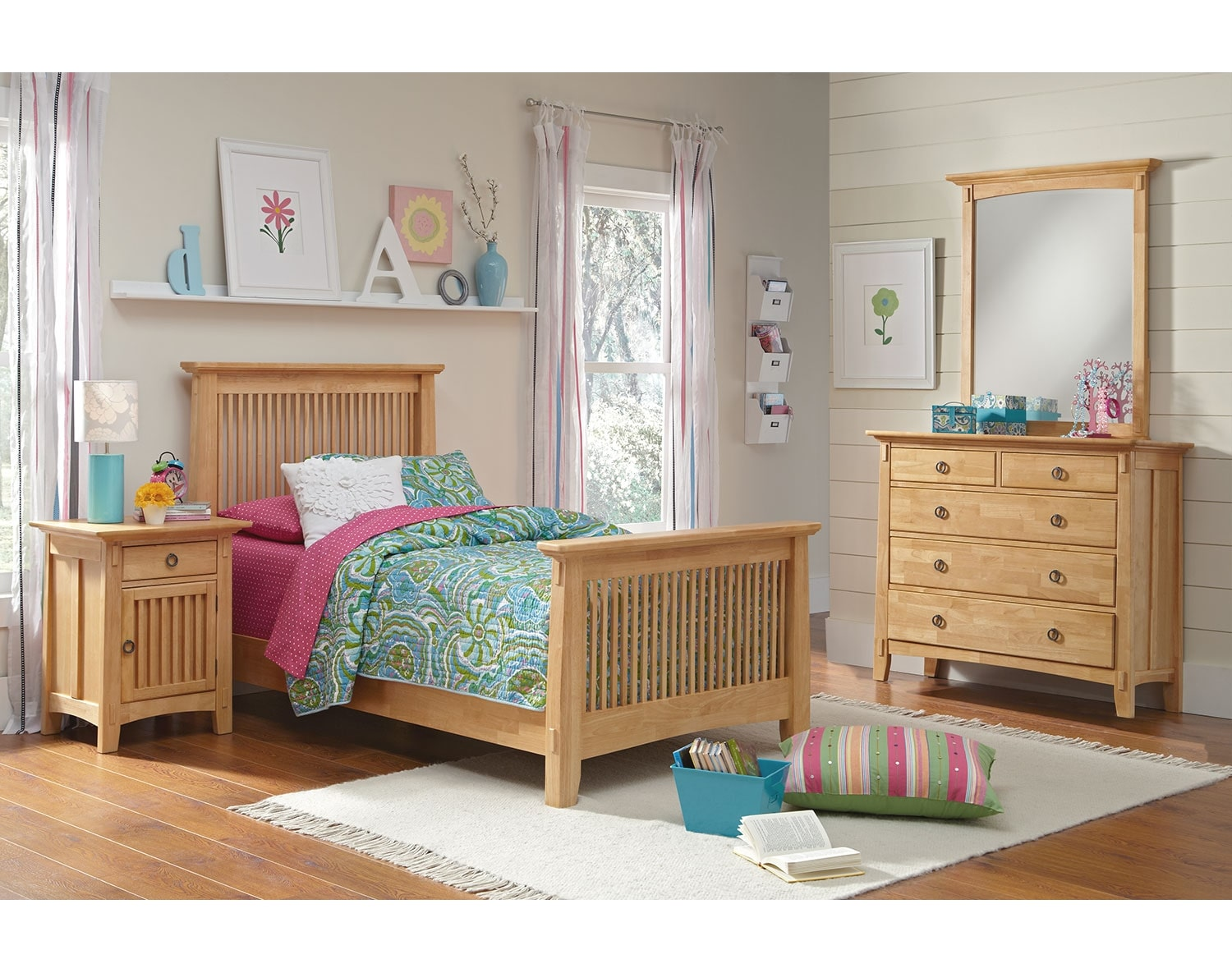 Kids Furniture - The Wentworth II Light Collection - Nightstand