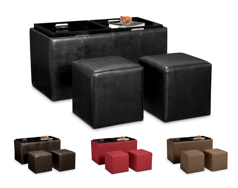 storage ottoman game day essentials