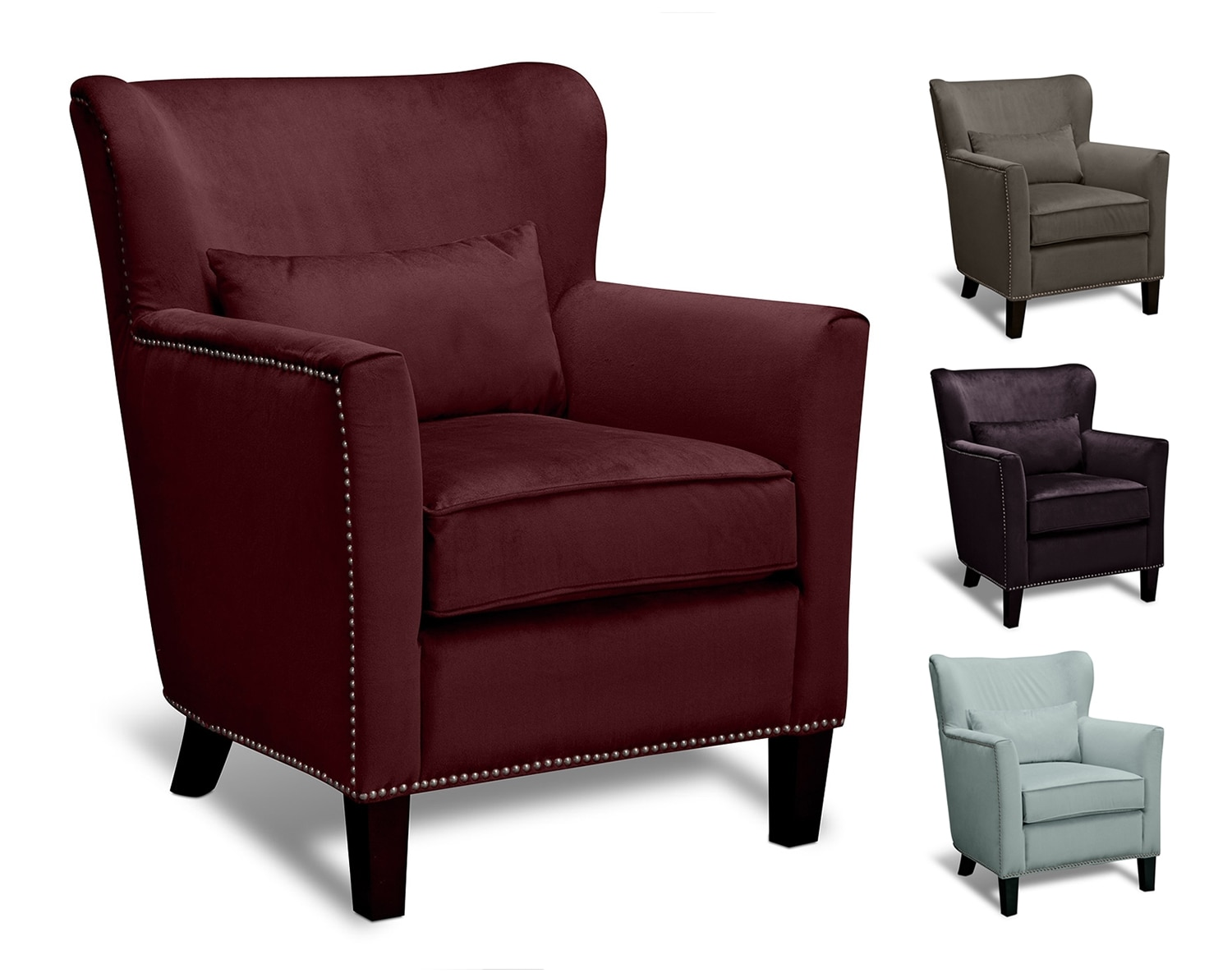 Living Room Furniture - The Kinsey Collection - Accent Chair