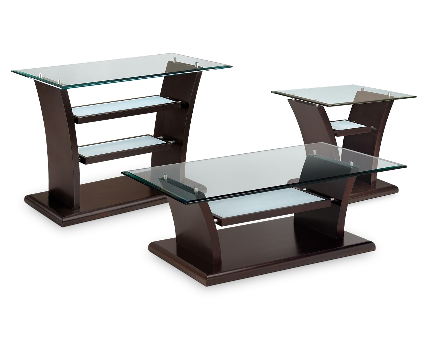 Accent and Occasional Furniture - The Carrera Collection - Cocktail Table