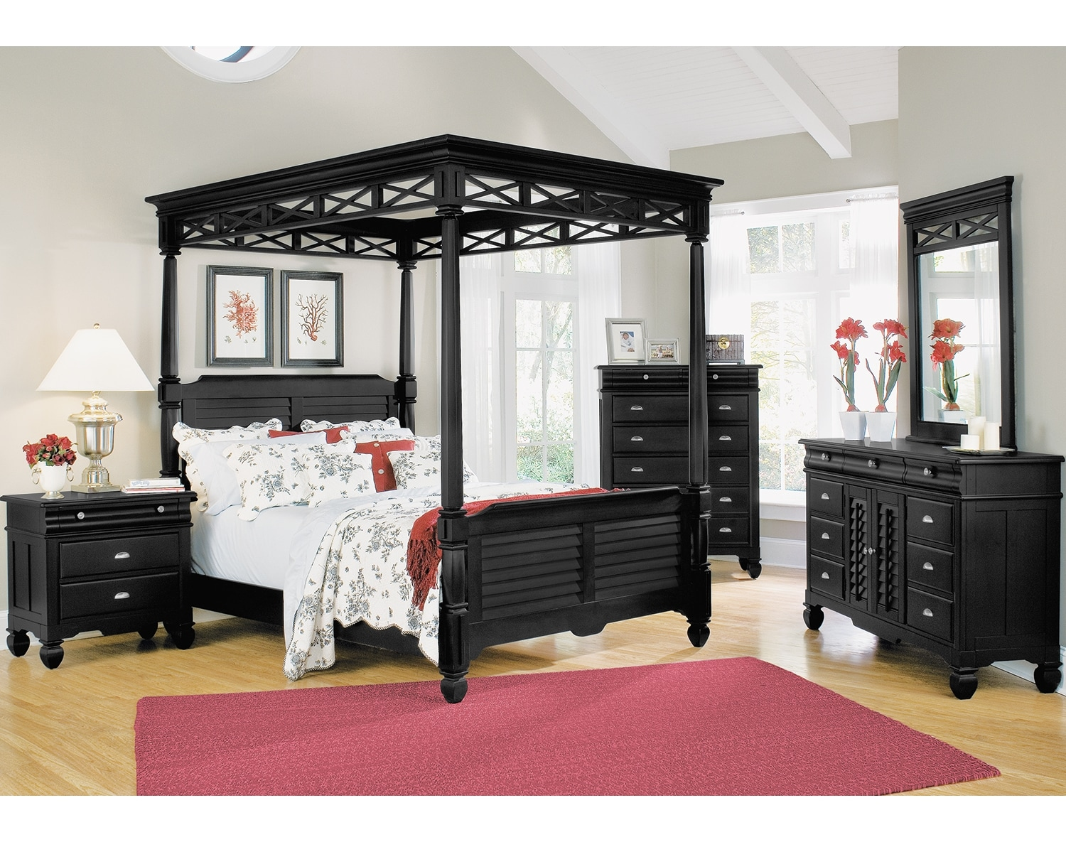 [The Plantation Cove Black Canopy Collection]
