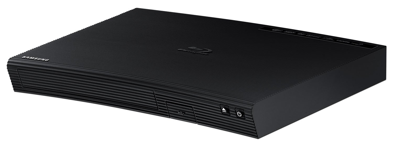 Samsung Curved 2D Blu-ray Player with Built-In LAN
