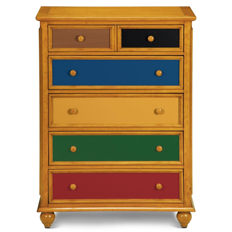 Colorworks Chest Honey Pine Value City Furniture